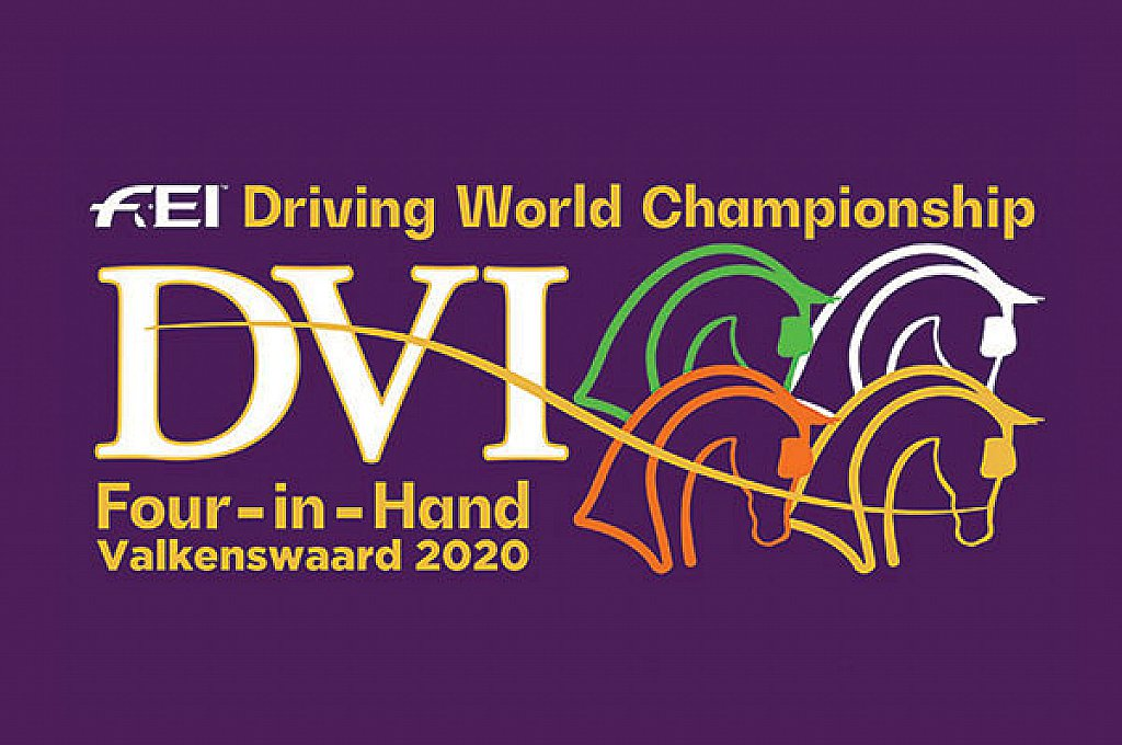 World Championships Valkenswaard 2020 launches Logo / In the past week, the organisation of Driving Valkenswaard International proudly launched the logo for the World Championships for Four-in-hand horses that will take place on the grounds of Exell Equestrian in Valkenswaard 7-11 October.