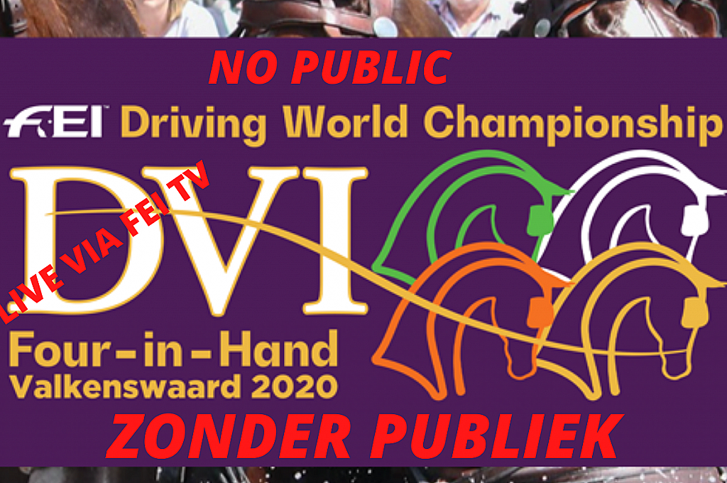FEI Driving World Championship Four-in-Hand Valkenswaard 2020- LIVE LINK  / FEI Driving World Championship Four-in-Hand Valkenswaard 2020- LIVE LINK